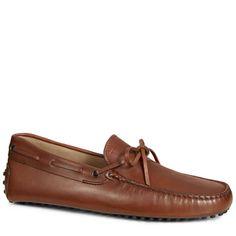 TOD'S Gommino Mokassins Aus Leder. #tods #shoes #gommino mokassins