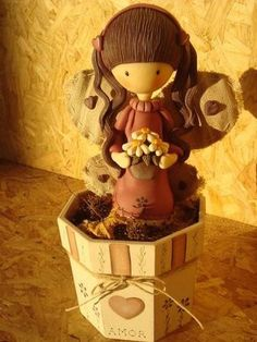 *COLD PORCELAIN ~  GORJUSS: MUÑECAS HECHAS EN PORCELANA FRÍA, ¡¡¡HERMOSASSSS...Se van a enamorar!!!!!! Angel Flying, Biscuit, Fondant Decorations, Pasta Flexible, Polymer Clay Charms, Cold Porcelain, Gum Paste, Clay Creations, Clay Crafts
