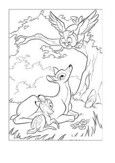 ausmalbild bambi ausmalen | wenn du mal buch, malvorlagen pferde, ausmalbilder