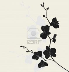 Orchid tatoo idea maybe i'll get it in white ink