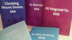Printable dust jackets tell people to bug off while you're in Narnia