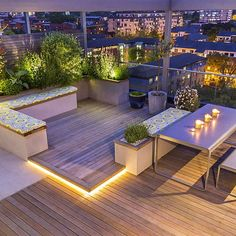 Roof Terrace Design King's Cross Roof Terrace Design King's C. - Roof Terrace Design King's Cross Roof Terrace Design King's Cross - Roof Terrace Design, Rooftop Design, Rooftop Garden, Rooftop Terrace, Balcony Garden, Ideas Terraza, Modern Roofing, Roof Architecture, Fashion Architecture