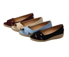 Picnic Wedge Sandals.  - Just bought the black pair and two more from the shop. what a great store.