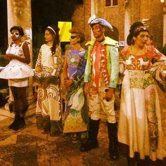 I figuranti in costume per il gioco Ravennopoli   MyTurismoER: Ravenna attraverso lo sguardo fotografico di @livingravenna