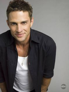 David Fumero as Cristian Vega...don't watch this but watched Greetings from the Shore and thought he was attractive, looked him up and omg!.....he's even better looking with short hair!