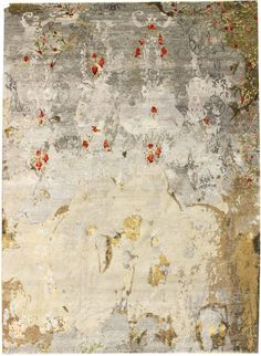 Recent Arrivals Gallery: Modern Patinated-Look Rug, Hand-knotted in Nepal; size: 8 feet 0 inch(es) x 10 feet 0 inch(es)