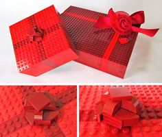 Another Lego gift box - Valentine's Day version - Valentine Box by Imagine™, via Flickr