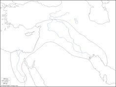 abcteach Printable Worksheet: Blackline Map of India
