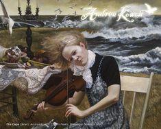 The Cape (detail) - Andrea Kowch (b. 1986)