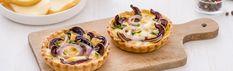 Mini Torta Salata con Scamorza e Radicchio - Antipasto Sfizioso e Gustoso | Vallelata