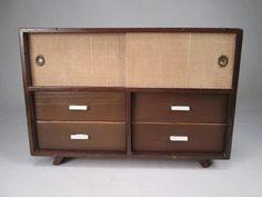 Vintage Mattel 1958 Mid Century Modern Danish Dresser by TheToyBox