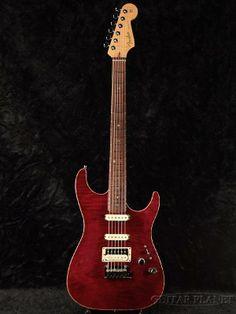 Fender Custom Shop Showmaster FMT Set Neck -Bing Cherry Transparent- 2002