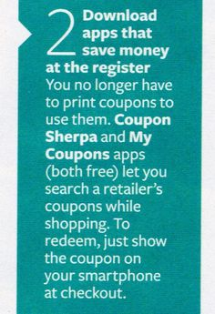 Free Apps for Coupons