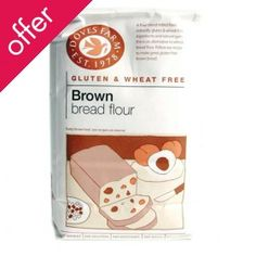 Doves Farm Brown Bread Flour - Gluten Free - 1kg £1.80