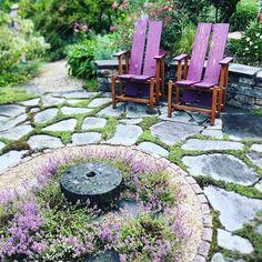 Lisa Nunamaker (@paper.garden.workshop) • Instagram photos and videos Landscape Design, Garden Design, Phil Woods, Back Gardens, Stepping Stones, Limestone Patio, Photo And Video, Outdoor Decor, Seattle