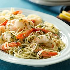 Shrimp Scampi - Be sure to serve this garlic-laden dish with lots of bread so everyone can sop up all of the delicious sauce.