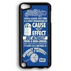 Doctor Who Matt Smith And Amy Pond 11Th Doctor Hipster Dr Who Quote Stars Time And Space iPod Touch 5 Case
