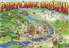 Portland, Oregon (City of Roses)