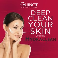 Achieve that luminous glow with the Hydraclean facial. This 30 minute patented treatment rids the skin of impurities tightens pores and restores radiance! Tighten Pores, Facials, Deep Cleaning, Clear Skin, Glowing Skin, Your Skin, Rid, Salons, Skin Care