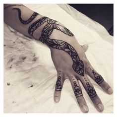 Snake Tattoo ❤ liked on Polyvore featuring accessories and body art