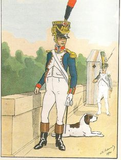 French; 3rd Line Infantry, Fusilier Officer 1809-10