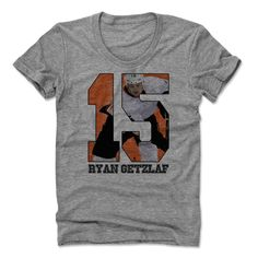 Ryan Getzlaf Game O Anaheim Officially Licensed NHLPA Womens Scoop Neck S-XL