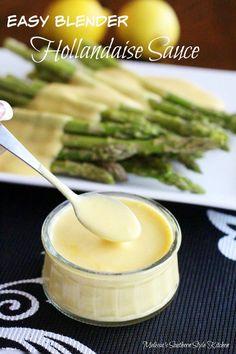 PARADE - Easy Blender Hollandaise Sauce