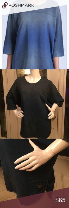 DIESEL f-pegaso sweat-shirt blue DIESEL pegaso sun washed faded blue pullover sweater size S Diesel Tops Sweatshirts & Hoodies