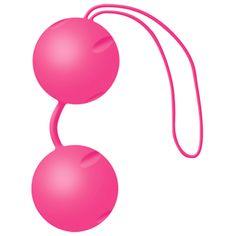 DisfracesySexshop | JOYBALLS PINKEstimulación suave y entrenamiento efectivo de los músculos del suelo pélvico mediante el innovador efecto trampolin.- Para un mayor placer durante las relacione sexuales.- Como método efectivo para la involución uterina postparto.- Para prevenir y colaborar con el tratamiento de la incontinencia.- Efecto tranpolín, osciliaciones eficientes de la esfera inferior.- Muy silenciosa.- No irrita la mucosa y es saludable para la piel.