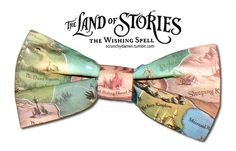"Fan made ""The Land of Stories"" bow tie"