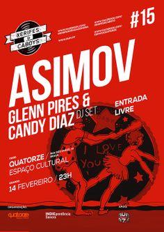Xerifes&Cáboys # 15 ASIMOV + Glenn Pires & Candy Diaz