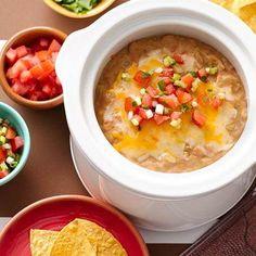 Slow-Cooker 3-Ingredient Bean Dip
