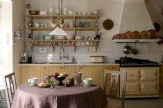 40 Trendiest Country kitchen ideas & Tips 2494322306 1930s Kitchen, Old Kitchen, Country Kitchen, Kitchen Decor, Kitchen Design, Kitchen Ideas, Cottage Kitchens, Home Kitchens, Swedish Kitchen