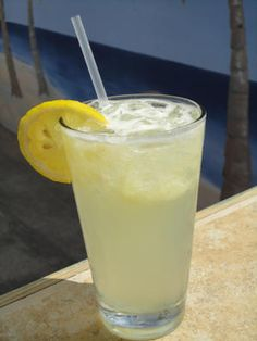 The Lemon Crush — made with citrus vodka, Simple Syrup, one fresh squeezed lemon and a splash of Spirte — is this summer's hottest drink at the Rio Grande Cafe & Tiki Bar, located at the Econo Lodge on 145th Street in Ocean City./Alyson Cunningham photo