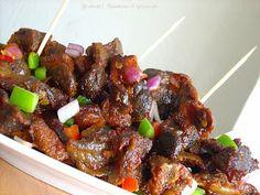 Gizdodo recipe,Nigerian Gizdodo recipe,dodo gizzards, Gizzards and Plantains Gizzards Recipe, Nigeria Food, West African Food, Caribbean Recipes, Caribbean Food, Food Garnishes, Food Tasting, Love Food, African Cuisine