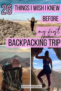 26 Questions I wish I asked before my first backpacking trip I The Pedal Project