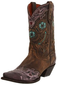 Dan Post Women's Vintage Arrow Western Boot ** You can get additional details, click the image : Boots for women