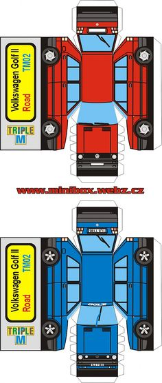 free paper toy cars