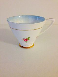 Royal Stafford Bone China Teacup by vintagebygramma on Etsy