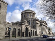 Dublín   #justicia #court #old #building