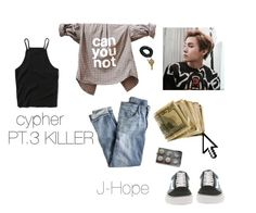 Designer Clothes, Shoes & Bags for Women Chill Outfits, Kpop Outfits, Korean Outfits, Cute Outfits, Fashion Outfits, Bts Inspired Outfits, Pretty Girl Swag, Jhope, Abercrombie Fitch
