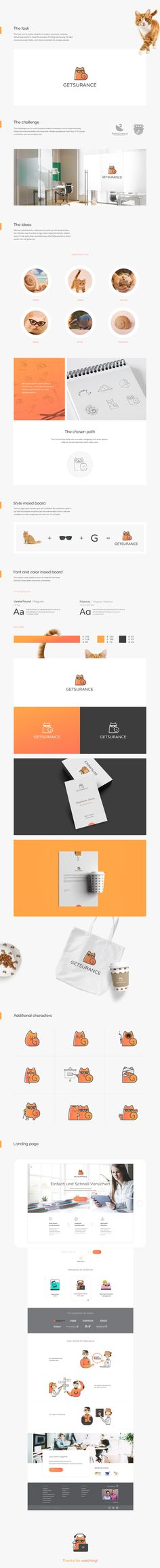 We created a logo for a modern insurance company.Getsurance wants to make the process of finding and buying the right insurance easier, faster, and more convenient for younger people.