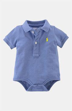 Ralph Lauren Polo Bodysuit (Infant) | Nordstrom