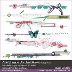 Readymade Borders: May- Studio Double-D Elements- EL151787- DesignerDigitals