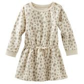 Animal print brings fun and flair into her wardrobe. Pair this little lady with leggings and she's ready to go.<br>