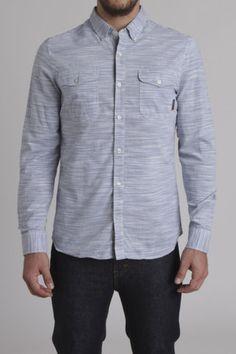 f51158343f Vans JT Del Mar L S Woven Shirt