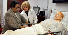 Nursing Simulation Lab features SimMan 3G at Sacred Heart University