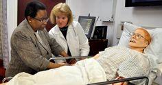 Nursing Simulation Lab features SimMan 3G at Sacred Heart University