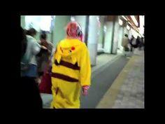 Pikachū in Shinjuku 新宿のピカチュウ
