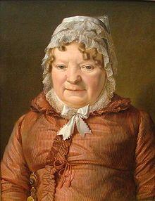 Ferdinand Georg Waldmüller  -  Mutter des Hauptmanns von Stierle-Holzmeister (um 1819), Alte Nationalgalerie (Berlin).